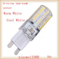 50pcs G9 5W AC220- 240V 64led 3014 SMD LED Lamp Home lighting...
