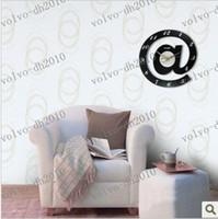 Wholesale LLFA3232 Hot sale Modern stylish wall clock Creative Design Romantic room decor gift craft clock retials