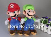 Wholesale New Super Mario Bros Stand MARIO amp LUIGI Plush Doll Stuffed Toy quot Retail