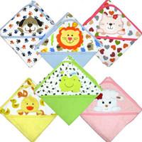Cheap Wholesale - Children's Blankets & Quilts Towels blankets dog cat baby infant bath towel cotton cartoon -LH118H