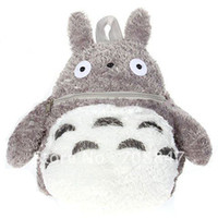 Wholesale Fashion and Comfortable Plush Doll Totoro Backpack
