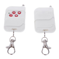 Wholesale Wireless MHz Keychain Remote Controller Of Home Security Alarm System