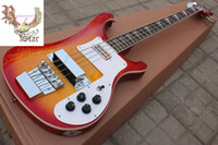 Wholesale Christmas promotion Model strings bass Sunburst electric bass guitar HOT SALE