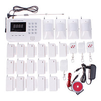 Wholesale Wireless GSM PNTS SMS Call Autodial Voice Home Security Alarm System