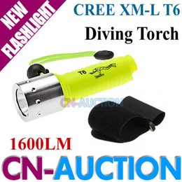 Wholesale Waterproof LM CREE XM L XML T6 LED Diving Flashlight Underwater Lamp Torch CN CLF19 CN Auction