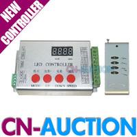Wholesale FS DMX512 RGB Remote Controller SD Card LED Controller for Dream color led strip led light CN RLC39