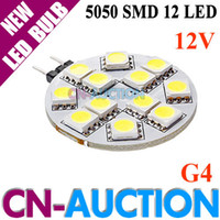 Wholesale G4 SMD LED Light Home Car RV Marine Boat Lamp Bulb DC12V White Warm White WF LLB106