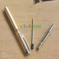 Wholesale Crazy Sales Yellow Crystal touch pen Swarovski Crystal refills