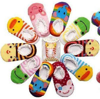 Wholesale Unisex Baby Kids Toddler Girl Boy Anti Slip Socks Shoes Slipper10Pairs LH125H