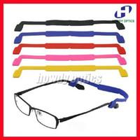 Wholesale Children Kids Silicone Anti Slip Eyeglasses Sunglasses Glasses holder chain cord String