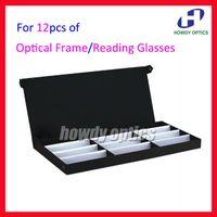 Wholesale Retail A Eyeglass Eyewear Optical Frames Reading Glasses Display Case Box Sample Tray