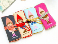 fancy bags - Children s stationery fancy little red bind belt high capacity pen bag good gift wholesaledandys