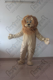 POLE STAR MASCOT COSTUMES long hair lion mascot costumes character lion costumes free shipping animal costumes for business activity