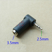 Wholesale 90 Degree Angled mm Male to mm Female Adapter Connector
