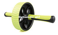 Wholesale 2pieces Super Single Abdominal Wheel Ab Roller With Mat For Exercise Fitness Equipment