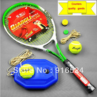 Wholesale Tennis Racket Singleplayer Combination Training Set Beginners Tennis Racket