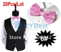 Wholesale Holiday Sale Men s Classic Bowtie Grid Polyester Neckwear Adjustable Neck Bowtie Bow Tie