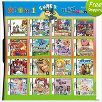Wholesale GB Multi games For NDS DSi DSXL DS games in one card