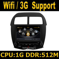 Wholesale S100 Car DVD GPS Head Unit Sat Nav for Mitsubishi Outlander Sport with Wifi G Host Radio Stereo Player Tape Recorder G CPU