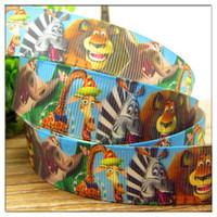 printed grosgrain ribbon - mm Cartoon Series printed Grosgrain ribbon Polyester Cartoon Ribbon DIY haribow garment accessory CT0086