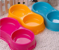 Wholesale Cat Bowl Pet super utensils bowl Resin factory shop direct round headed practical durable good quality solid water