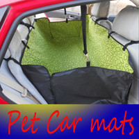 Wholesale Retail Dog Car Seat Covers Pet Products Pet car mat double thick rear seat pet dog car mats car mat waterproof pad