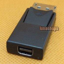 DisplayPort male to Mini DP DisplayPort Female black cable Adapter