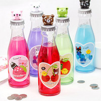Wholesale Min Order mixed order Cute Soda bottle style money storage box FN