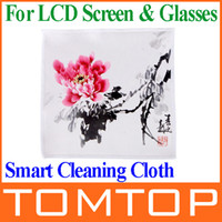 Wholesale Patented Dodocool Magic Smart Cleaning Cloth Screen Cleaner for iMac iPhone iPad Macbook Smartphone LCD screen amp glasses