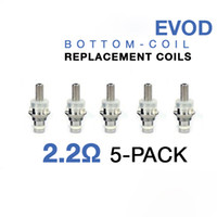 Electronic Cigarette Atomizer Core  Coil Head eVod MT3 Clearomizer Core for Protank CE4+ GS H2 Atomizer No wick head core clearomizer Heating Coil Head 2.4ohm Bottom Heating