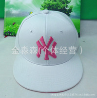 Wholesale Special high quality NY hip hop hip hop hat flat brimmed hat leisure hat adjustable baseball cap Hot