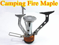 Wholesale Fire Maple w Hornet mini Titanium Mini Gas Stove Portable Camping Cooking Tool with Plastic box