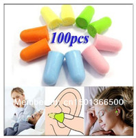 Wholesale Foam Earplug Ear Plug Keeper Soft Protector Travel Sleeping Noise Reducer Pairs