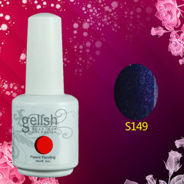 Wholesale Newest Gelish Soak Off UV Gel Polish Long Lasting Total Fashion Colors Available Factory