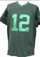 2013 Rodgers Drenched Limited Jersey Home Green Football Jer...