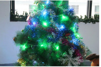 Wholesale 2013 New Arrival Christmas Tree Decoration LED Lights Flash String LED Strings m Long