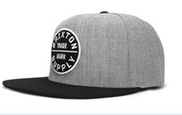 Wholesale BRIXTON Snapback Hat New Brand Men baseball caps Colors fashion women snapbacks hats hip hop cap