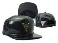 Wholesale Brand New HATER black leather Snapback Caps Cheap Styles Fashion Hip Hop MEN WOMEN designer hats top quality