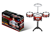 Wholesale Kids Children Toy Gift Set Roll toy Drum Musical Instruments Band Kit qjq119
