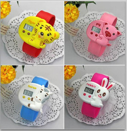 New Zodiac signs style Waterproof Cartoon pops table candy-Colored jelly Wrist Watches for Kids Christmas Gift