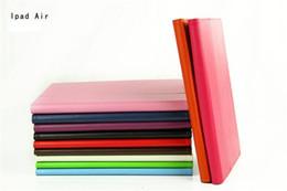 Air en cuir libre à vendre-Magnetic Smart Cover flip PU stand de couverture en cuir titulaire de la Case For New iPad Air 5 Livraison gratuite