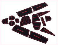 Wholesale non slip pad gate slot cushion noise reduction pads storage box pad for EcoSport kuga