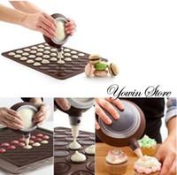 Wholesale Macaron Silicone Pot cake decorating tools Christmas cake decoration Muffins cakes tools