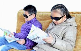 Wholesale Black Unisex Vision Care Pin hole Eyeglasses pinhole Glasses Eye Exercise Eyesight Improve plastic Retail amp