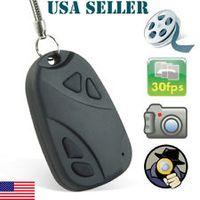 Wholesale Mini Hidden DV Car key chain Camera Recorder DVR Video