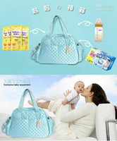 Wholesale Hot Sale Diaper bags new style slimNote nappy bag multifunction high capacity mother baby bags