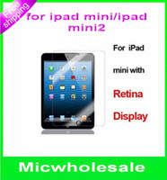 7.85 For Apple For Ipad Mini For ipad mini 2 ipad mini2 with retina transparent screen LCD guard protector anti-fingerpoint for 7.85 inch ipad mini ipad tablet