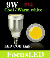 Wholesale CREE W GU10 Led Light Bulbs High Power COB E27 E26 E14 B22 MR16 Led Spotlights Angle Warm Cool White V V