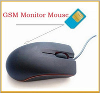 Wholesale Mouse Style GSM SIM Card Surveillance Spy Mobile Ear Bug Sound Monitor