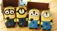 Cheap 100pc 3D Despicable Me Soft Silicon Silicone case cover skin for Samsung Galaxy S4 i9500 S3 i9300 Note 2 3 N9000 minions M2 mix order#C64